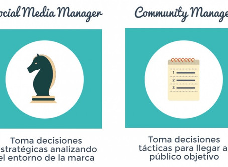 Diferencias entre Community Manager y Social Media Manager