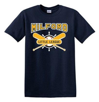 Milford Little League Performance T-Shirt