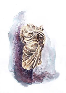 Niki-drapée, art grec, antique