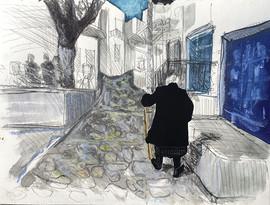 Rue de Chora, Yiayia grecque