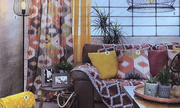 Podium d'inspiration septembre : style Nature, tendance Arizona.  Conseils de tendances Pascaline Bossu, Leroy Merlin Grèce