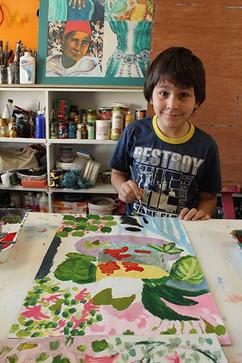 Peinture de Chrystos - Matisse
