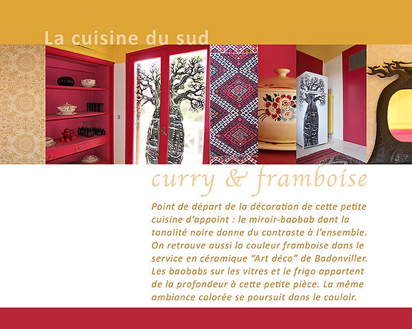 Kokkino Home, showroom de Pascaline Bossu, décoration, fresques, cuisine éthnique