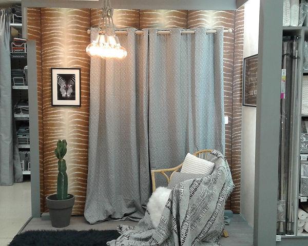 Box d'inspiration clients : style Nature, tendance éthnique afrique/safari. Création Pascaline Bossu, Leroy Merlin Grèce