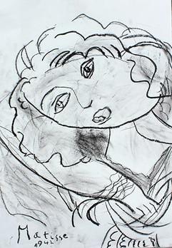 Dessin d'enfant - Matisse
