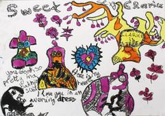 dessin d'enfant - Niki de St Phalle