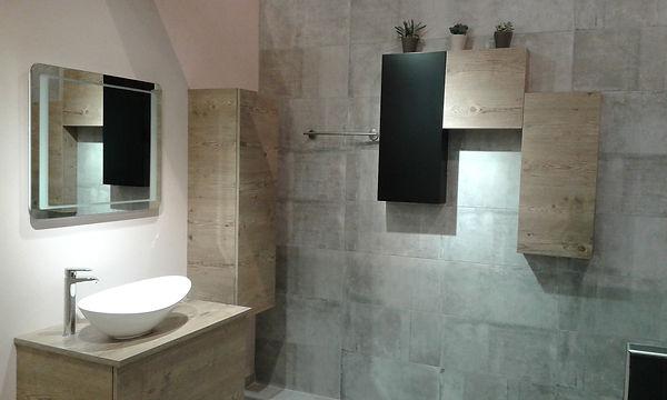 Showroom salle de bain, conseils de tendances Pascaline Bossu, Leroy Merlin Grèce