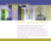 Kokkino Home, showroom de Pascaline Bossu, décoration, fresques, Cuisine bleue nuitne
