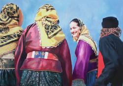 Jeunes femmes de Skiros