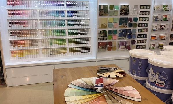 Showroom couleurs 2017-18, conseils de tendances Pascaline Bossu, Leroy Merlin Grèce
