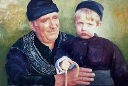 Grand-père de Skiros