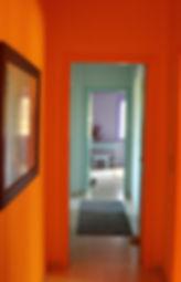 Kokkino Home, showroom de Pascaline Bossu, décoration, fresques
