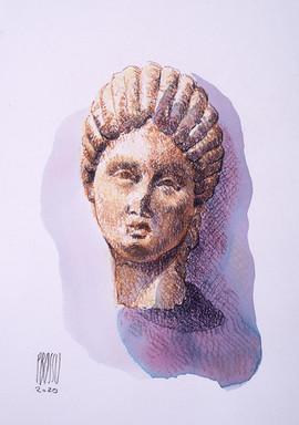Figurine en argile