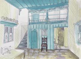 Maison traditionnelles de Skyros
