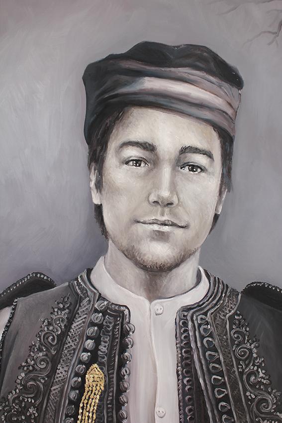 Antonin en costume d'Epire