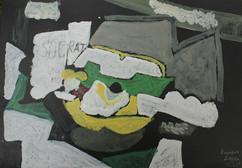 Peinture d'enfant - Braque