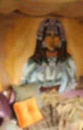 Décoration des magasins COCO-MAT de Pascaline Bossu, Peinture sur toile