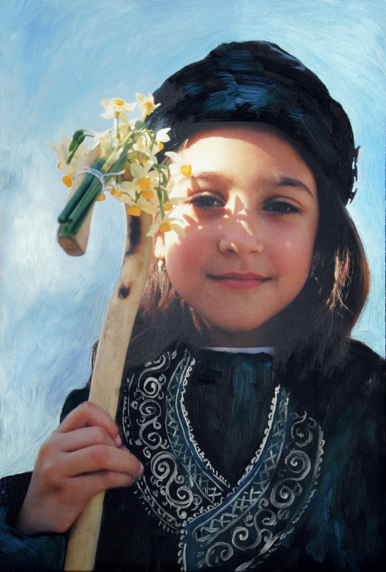 Jeune fille de Skiros