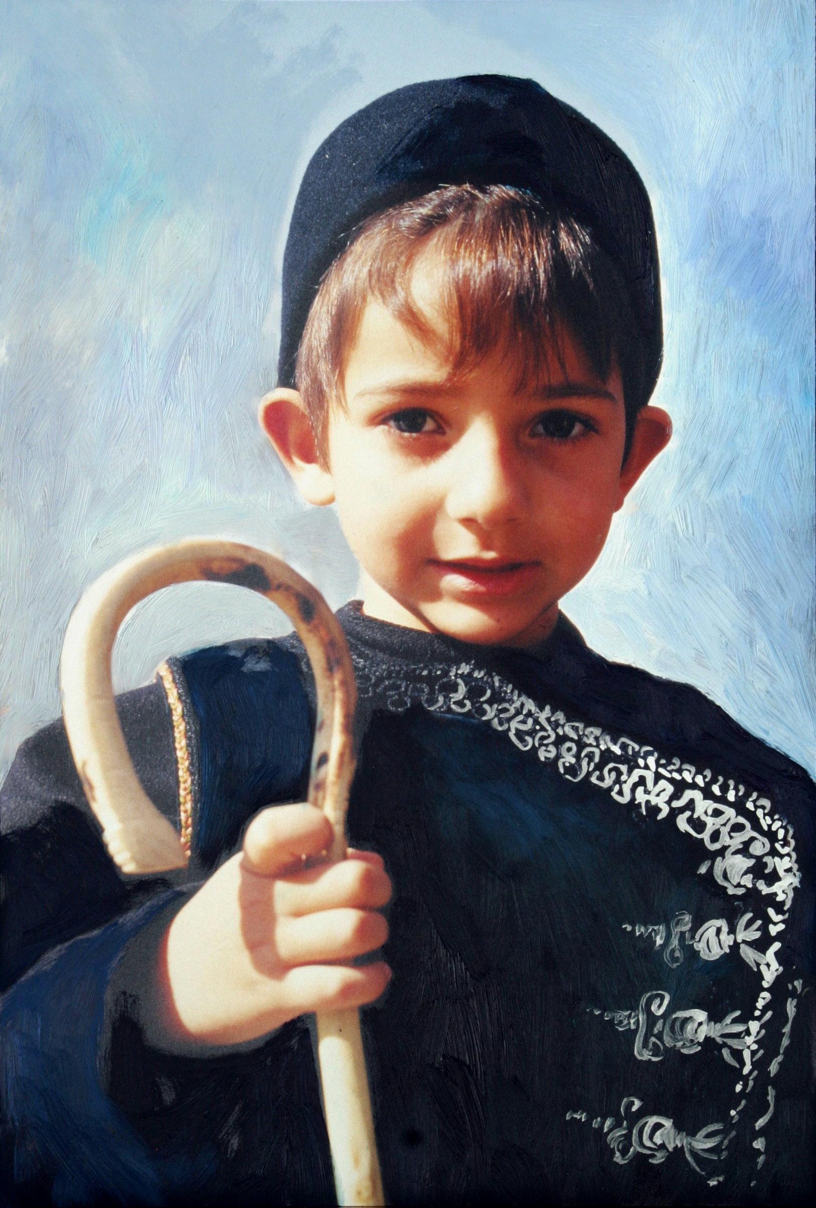 Jeune enfant de Skiros
