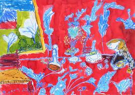 Peinture d'enfant - Matisse