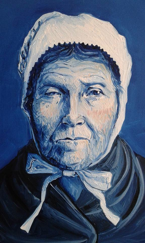 MARIE bleue