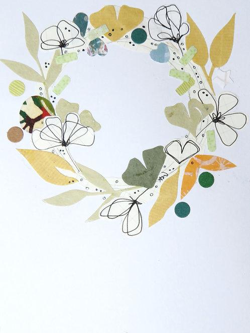 Wreath Card (W1)