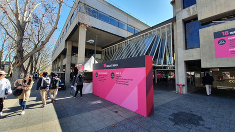 Open Day. Dia em que a Universidade abre as portas para que as pessoas conheçam o Campus.