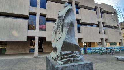 MUSE - Maquarie University Spatial Experience, um espaço de convivência com 4 andares.