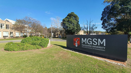 MGSM - Maquarie Graduate School of Management.