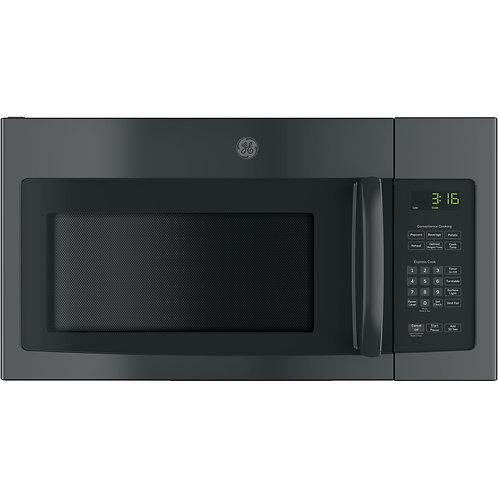 Black GE® 1.6 Cu. Ft. Over-the-Range Microwave Oven