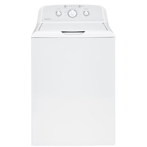 White Hotpoint® 3.8 cu. ft. Capacity Washer with Stainless Steel Basket