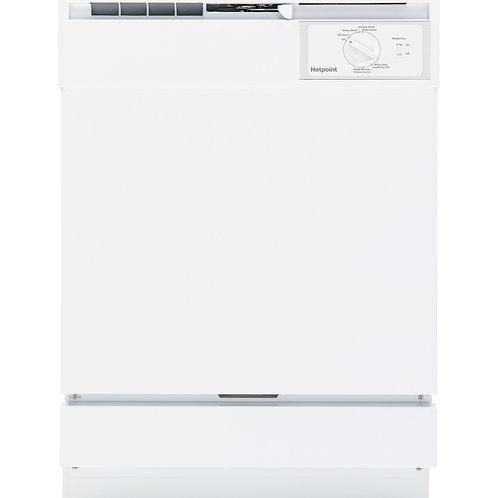 White Hotpoint® Built-In Dishwasher