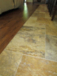 TILE AND WOOD FLOOR