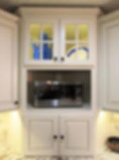 Corner Cabinet feature