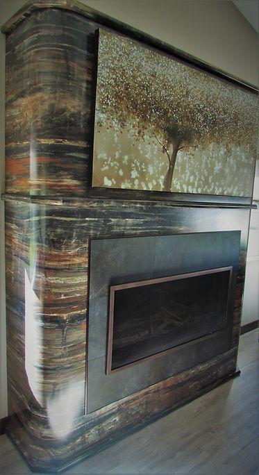 Laminate Fireplace