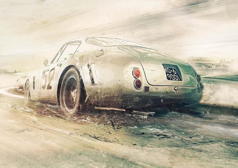 Ferrari 250GT-C SWB - 1961 - 'Blast thro