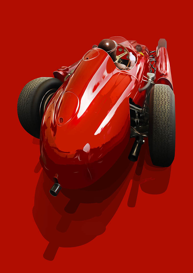 Ferrari D50 - 1956 - 'Master & Machine'.