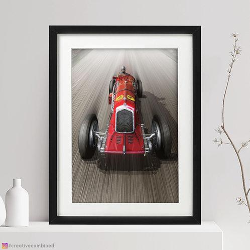 Alfa Romeo P3 Scuderia Ferrari - 'Jano's Capolavoro' - Fine Art Print