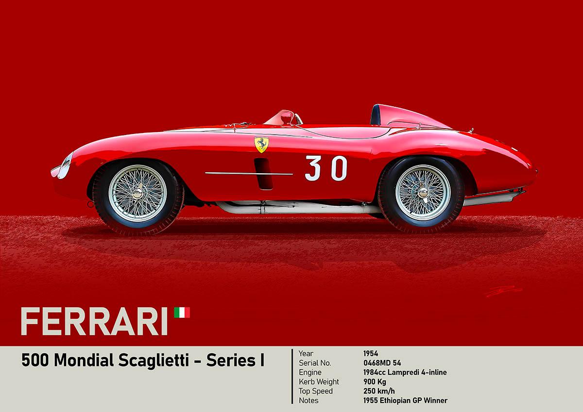 Ferrari 500 Mondial - 1954 - 'Petracchi'