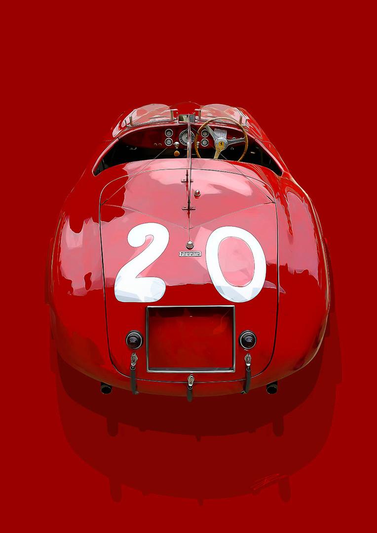 Ferrari 166 MM Barchetta Touring - 1949