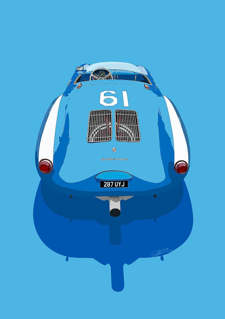 Porsche 550 Spyder 1500 RS - 1955 - '550