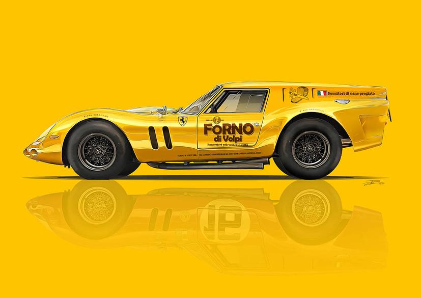 'Forno di Volpi' - Ferrari 250 GTO Bread