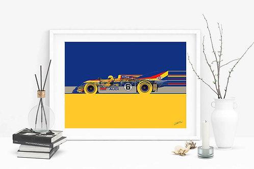 Porsche 917-30 - Mark Donohue Can-Am Cup 1973 - Fine Art Print