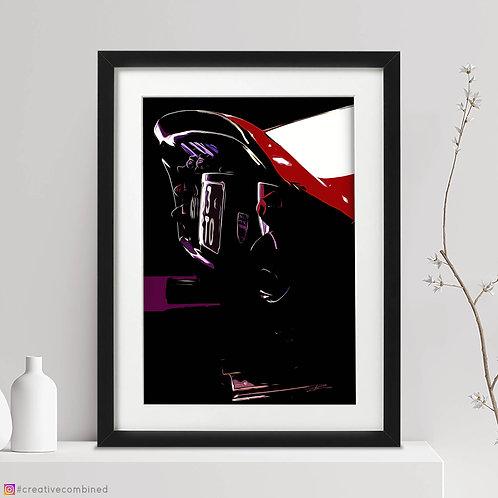 Ferrari 250GTO V12 - 1963 - Fine Art Print