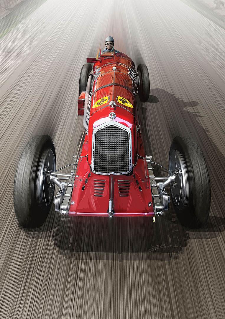 Alfa Romeo TipoB - 1934 'Jano's Capolavo