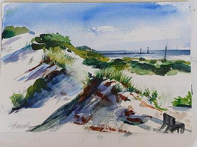 plein air 13th st lbi by Susan Hennelly