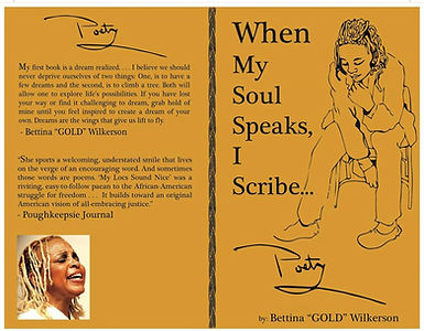 When My Soul Speaks, I Scribe by Poet Gold