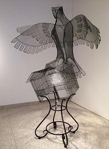 Deep Song a sculpture by Sarah Haviland