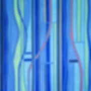 Blue + Three by Jennifer Woolcock-Schwartz
