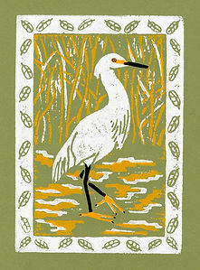 heron by Amy R Farrell